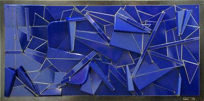 Fernando Costa (AKA COSTA), 'Monochrome Bleu', 2016
