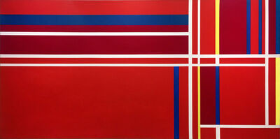 Ilya Bolotowsky, 'Abstraction in Three Reds', 1980