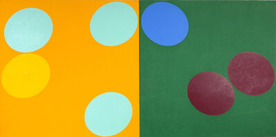 Oli Sihvonen, 'Double Matrix Orange and Green ', 1967
