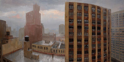 Kenny Harris, 'Gramercy, Rainstorm', 2015