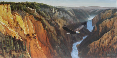 Guy Coheleach, 'Yellowstone Canyon American Eagle', 2000-2019