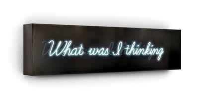 David Drebin, 'What Was I Thinking', 2015