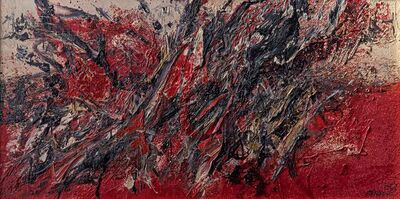 Mattia Moreni, 'Autocombustione', 1957