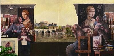 Emilio Trad, 'En Face du Louvre', 2015
