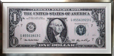 Robert Silvers, '$1 Dollar Bill', ca. 2003