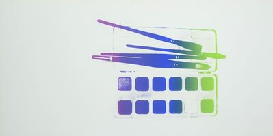 Andy Warhol, 'Watercolor Paint Kit with Brushes', ca. 1982