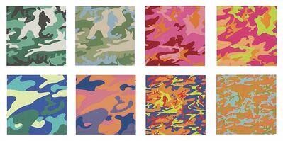 Andy Warhol, ''Camouflage' portfolio II.406-413 ', 1987