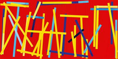 Imi Knoebel, 'Fishing Red I E.', 2007-2009