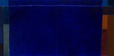 Françoise Sullivan, 'Blue/Bloom', 2016
