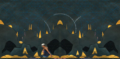 Pamela Phatsimo Sunstrum, 'The Star + The Moon', 2011