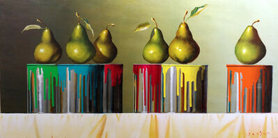 James Jensen, 'Pears & Paint Cans', 2019