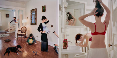 Julie Blackmon, 'Two works'