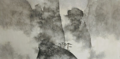 Li Huayi, 'Mountains Hidden in Clouds and Mist', 2008