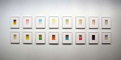Sanford Wurmfeld, 'CYMK Series C Epitaphs', 2010