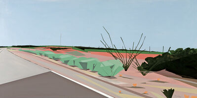 Greta Van Campen, 'Near the Pecos River'