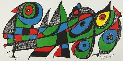 Joan Miró, 'Miro sculpteur, Japon', 1974