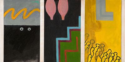 Irving Kriesberg, 'Urban Triptych ', 1969