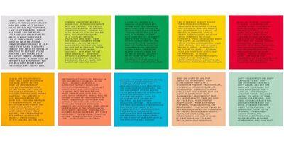 Jenny Holzer, '10 Inflammatory Essays 1979-1982 (Small Set)', 1993