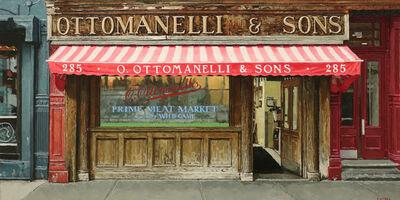 Richard Combes, 'Ottomanelli's Bleecker St', 2019