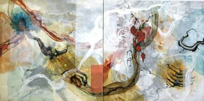 Allison Stewart, 'White River Run Diptych'
