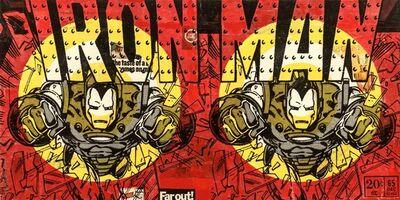 Robert Mars, 'Far Out Iron Man', 2015