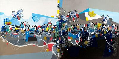 Yoël Benharrouche, 'Un voyage vers le ciel ', 2016