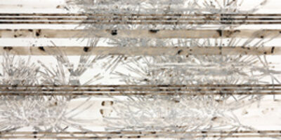 Katina Huston, 'Katagami Series: Silver Pine With Stripe', ca. 2014