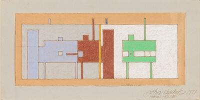 John Hejduk, 'North East South West House', 1977
