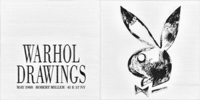 Simon Linke, 'Warhol Drawings', 1988