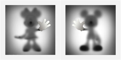 whatshisname, 'Gone Minnie and Mickey (Special Edition - Silver)', 2019