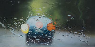 Steen Larsen, 'Stille regn', 2018