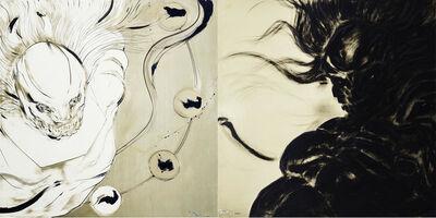 Amano Yoshitaka, 'Wind and Thunder Gods', 2013