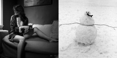 Adolfo Doring, '(137-098) Allison, Brooklyn: Snowman, Brooklyn (POSTED 162 GRAMS)', 2016