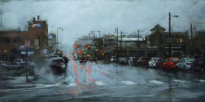 Lindsey Kustusch, 'Winter in Downtown', 2018