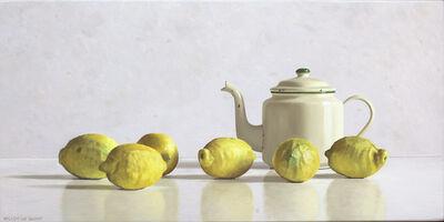 Willem de Bont, 'Teapot and 6 lemons', 2018