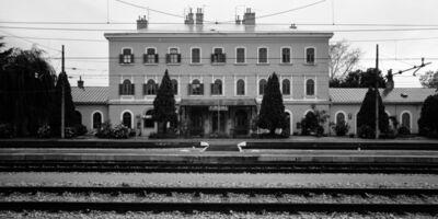 Gabriele Basilico, 'Aurisina Train Station - Friuli Venezia Giulia, Italy', 1993