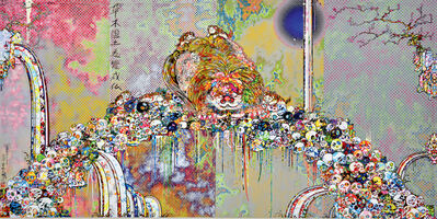 Takashi Murakami, 'The Lion of the Kingdom that Transcends Death', 2018