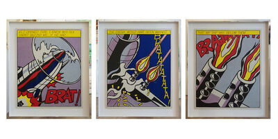 Roy Lichtenstein, 'As I Opened The Fire', 1966