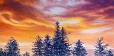 Jim Schantz, 'Stockbridge Sunset, August'