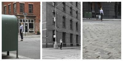 Barbara Probst, 'Exposure #151: N.Y.C., Prince & Crosby Streets, 04.08.20, 2:58 p.m.', 2020