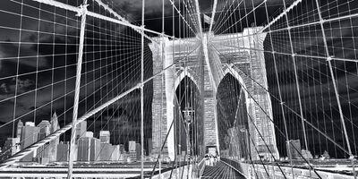 Andrew Prokos, 'Inverted Brooklyn Bridge', 2020