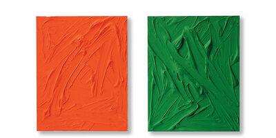 Gerhard Merz, 'Orange und Grün', 1997