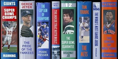 J. Scott Nicol, 'NY Sports Legends'