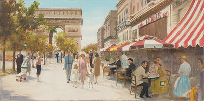 Harry Worthman, 'The Champs-Élysée, Paris', 1963