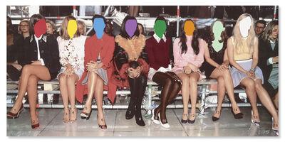 John Baldessari, 'Numbered Legs', 2015