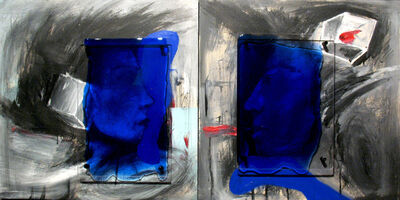 Milan Heger, 'Friends (Diptych)', 2011