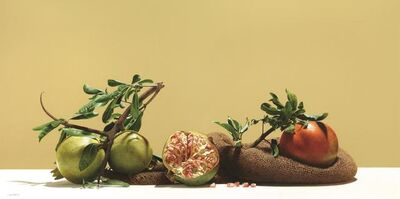 Luciano Ventrone, 'Pomegranates', made in the nineties