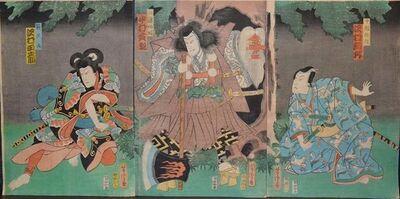 Utagawa Yoshitora, 'Three Warriors', Mid 19th Century