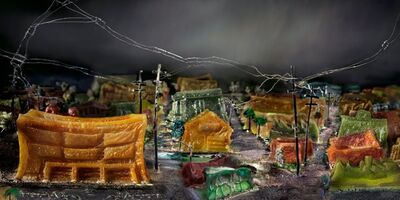 Liz Hickok, 'The Mission: 16th and Harrison,San Francisco in Jell-O', 2010