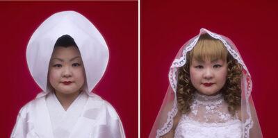 Tomoko Sawada, 'Bride (10 + 11)', 2007